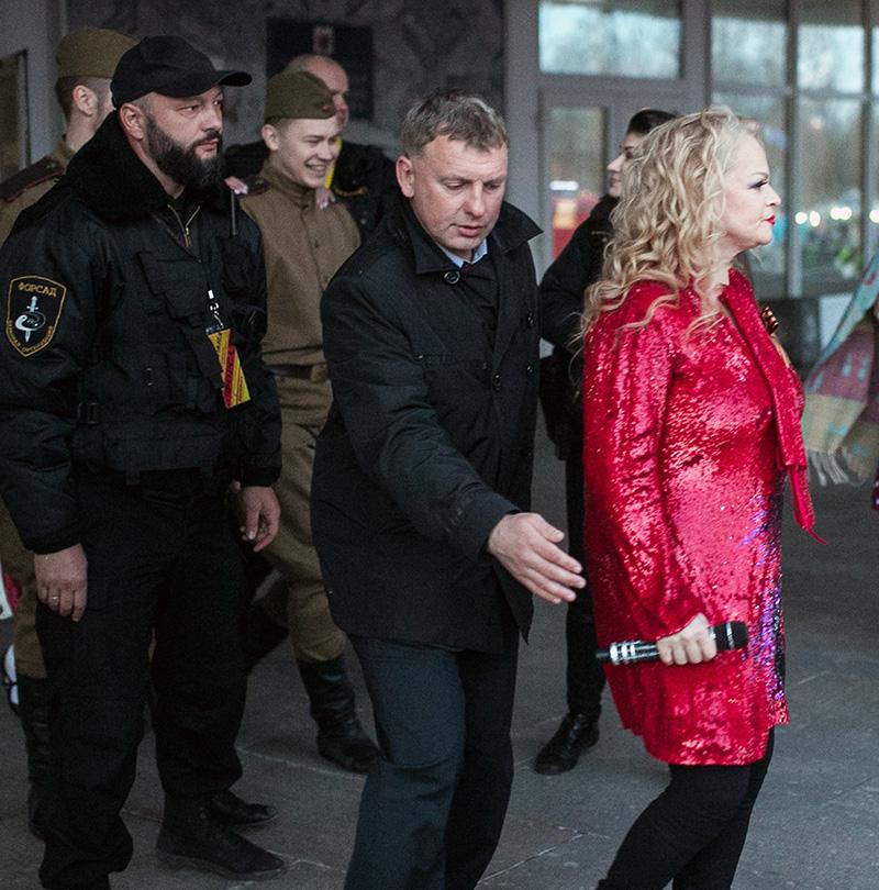 Обеспечение охраны концерта Ларисы Долиной при проведении мероприятия посвященного Дню Победы 9 мая 2017 года