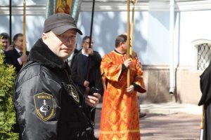 Обеспечение мер безопасности при проведении крестного хода в г. Кронштадт