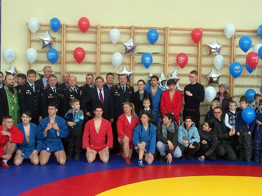 Открытие зала в Московском районе