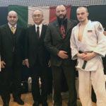 Международный мастер джиу-джитсу 7 дан представитель академии боевых искусств WASCA г-н Альфредо Дэ Олимпио (Италия)